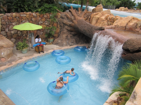 Seaworld's Waterpark, Aquatica in Orlando